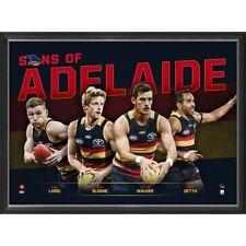 Sons of Adelaide Crows 2018 L/E Official AFL Print Framed Walker Sloane Betts