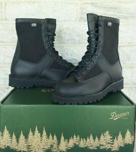 """Danner Mens 8"""" Acadia GTX Law Enforcement Boots 21210 Size 8.5 D $370 USA Black"""