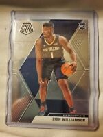 Zion Williamson 2019 Panini Prizm Mosaic Rookie Base RC New Orleans Pelicans #3
