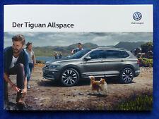 VW Tiguan Allspace R-Line MJ 2019 - Prospekt Brochure 12.2018