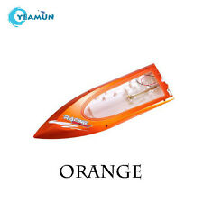 Feilun Ft009 spare part orange Hull Ft009 body parts Rc High Speed Racing Boat