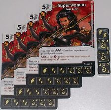 4 X Superwoman: Amazonian 100 World's Finest Dc Dice Masters