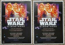 2 Flyers - Star Wars - A New Hope - In Concert - John Williams - Manchester -