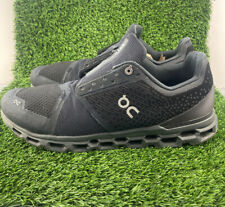 On Cloud Running Cloudstratus Men's Size 14 Black Shadow Premium Running Shoes
