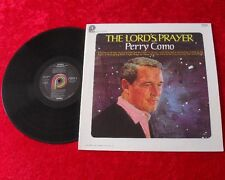 Perry Como LP The Lord's prayer TOP ZUSTAND!