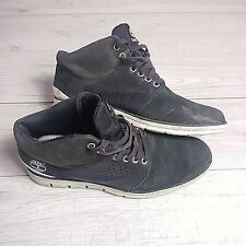 Mens Timberland Leather Low Boots Size UK 8.5