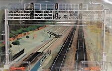 HO Scale - BLMA Models # 4025 Modern Triple Track Signal Bridge - Assembled NEW