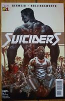 Suiciders #1 by Lee Bermejo (WATCHMEN: RORSCHACH, JOKER, BATMAN: NOEL) NM+
