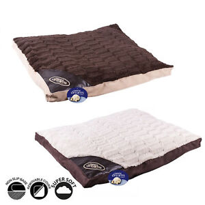 Sweet Dreams Luxury Anti Slip Dog Bed   Puppy Kitten Pet Washable Cushion Pillow