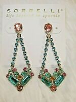 "*NEW*  &  *RETIRED* ~ Sorrelli ~ "" VIVID HORIZONS "" ~ KALMIA DROP ~  Earrings"