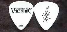 BULLET FOR MY VALENTINE 2010 Tour Guitar Pick!!! JASON JAMES custom stage #1