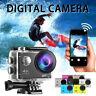 Caméra d'action 4K 1080P WiFi caméscope étanche DV Sports Cam à distance sous