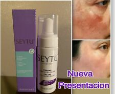 Seytu kit aclarador- Espuma Limpiadora facial -Crema aclaradora 0 manchas 0 acne