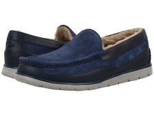 Men UGG  Fascot Moccasin Slipper 1014478 Navy Suede Leather 100% Original New