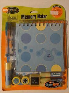 Vintage Viacom 2004 Blues Clues Memory Maker Nickelodeon Rare Art Supply Sealed