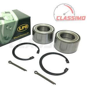 Front Wheel Bearing Kit Pair for KIA SEDONA Mk 1 + SORENTO Mk 1 - 1998 to 2009