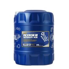 MANNOL 20L GM DEXRON III 3 Automatic Transmission Fluid ATF Ford Mercon V