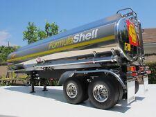 Tamiya RC 1/14 Shell Fuel Tank Tanker Trailer 56303 +Light Kit +Motorized Leg