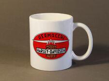 COFFEE CUP/MUG (11oz) FEATURING AERMACCHI/HARLEY-DAVIDSON COLLABORATION