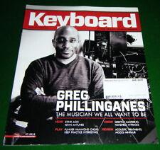 Play Funkier HAMMOND Organ Chops, Moog Minitaur Review in 2012 Keyboard Magazine