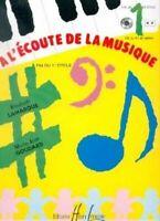 A l'_coute de la musique Cycle 1