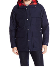 NWT Woolrich Mens Advisory Wool Insulated Mountain Parka Navy Size Medium $279