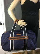 COACH VARICK NYLON PACKABLE GYM BAG  F93313 NAVY NWT