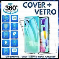 Pour Samsung Galaxy A51 Coque Étui Silicone +Film Verre Trempé A 51