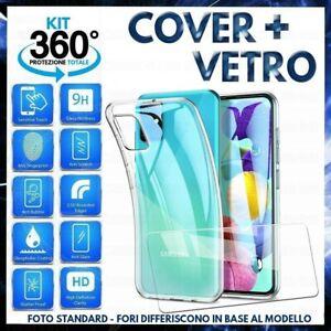Per SAMSUNG GALAXY XCOVER 4S COVER CUSTODIA TPU+ PELLICOLA VETRO TEMPERATO X 4 S