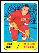 1967 68 TOPPS HOCKEY #44 GARY JARRETT VG DETROIT RED WINGS CARD