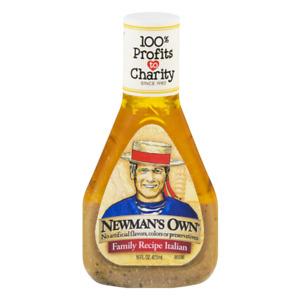 Newman's Own Family Recipe Italian 16 fl oz