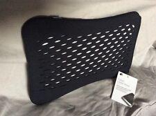 "BUILT NY - SFS Fishnet Laptop Sleeve 12-13""-Black Protective Neoprene Material"
