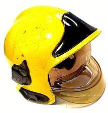 MSA Gallet Yellow Fire Helmet - Size Medium - USED - MK258