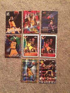 Awesome Kobe Bryant Nine Different Rookie Reprint Lot