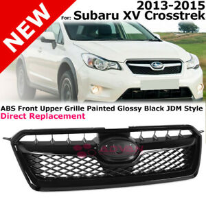 Front Grille for 2013-2015 Subaru XV Crosstrek Front Grill Assembly Black