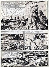BOB LEGUAY METAMORPHOSE PLANCHE ORIGINALE TIM L'AUDACE ANNEES 1950 PAGE 24