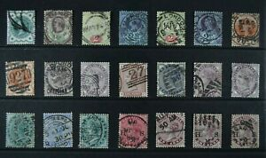 GB COLONIES & TERRITORIES, a collection of 147 VICTORIAN stamps, used condition.