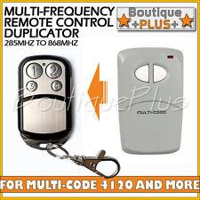Compatible Remote for Linear Multi-Code 4120 MultiCode 412001 MCS412001