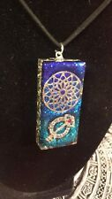Orgone Energy - OrgoneIAM Flower of Life/Believe Key Healing Pendant