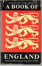 A Book Of England edited by Ivor Brown (1964 hardback)