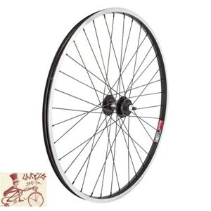 """WHEEL MASTER WEI 519 6-BOLT DISC  BOLTED 27.5"""" ALLOY BLACK FRONT WHEEL"""