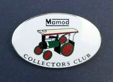 RARE VTG MAMOD COLLECTORS CLUB ENAMEL BADGE STEAM TRACTION ENGINE MODEL SOCIETY