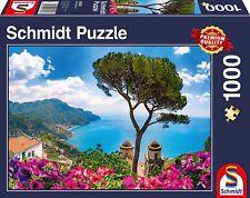 Vue sur Amalfi Côte, Italie : Schmidt Premium Puzzle 1000 pièces 58329