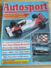 AUTOSPORT MAGAZINE JUL 1983 SILVERSTONE BRITISH GRAND PRIX F1 TEAMS SPIRIT-HONDA