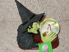 WIZARD OF OZ 75TH ANNIVERSARY DEPARTMENT 56 WITCH SNOW GLOBE