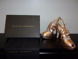 New  Sacha London Ladies Heels  Rose Gold Size 9 Reg. $185.00 Now $60