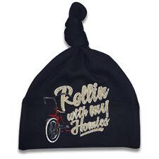 Rollin W M Homies Gorro Bebé Hot Rod Biker OLDSCHOOL SKULL Varones niñas