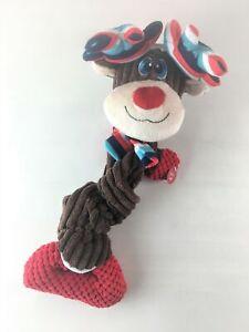 Christmas Dog Toy Raindeer Rudolph BRAND NEW Chew Squeak Plush Festive Xmas Gift