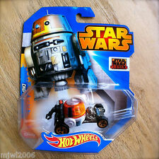 Disney STAR WARS Hot Wheels CHOPPER #11 diecast Mattel Droid INTL REBELS Series