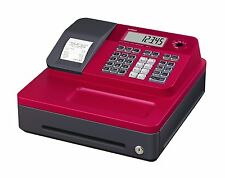 Casio SE-G1SC-RD Thermal Printing RED Cash Register SG-1 1 Line LCD 8 Dept